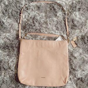 💕 Coach Baby Pink Large Crossbody / Hobo Bag
